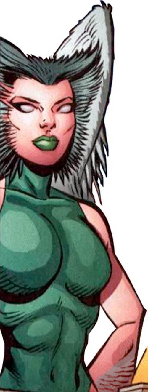 Starshrike aka Shrike of the Cadre (Power Company enemy) (DC Comics)