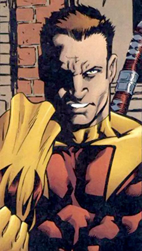Shrike (Nightwing enemy) (DC Comics) unmasking