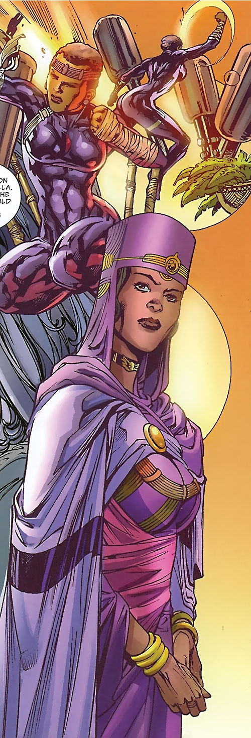 Black Panther (Shuri) (Marvel Comics) (Female) montage