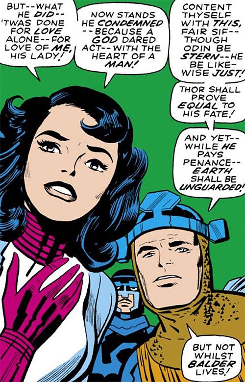 Sif (Thor ally) (Marvel Comics) and Balder