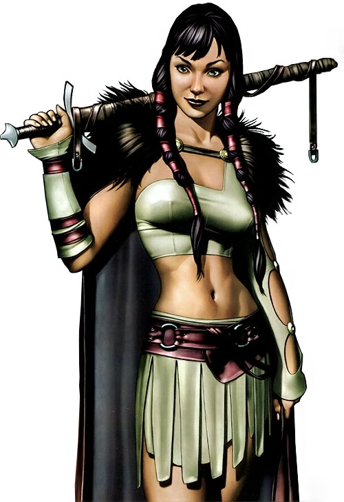 Sif (Thor ally) (Marvel Comics) as a youth