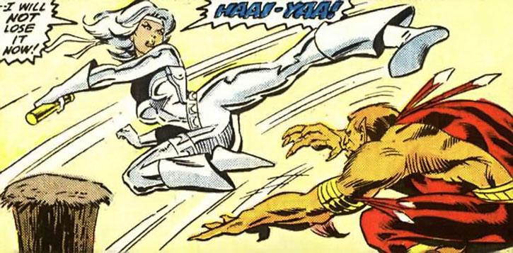 Silver Sable vs. the Puma