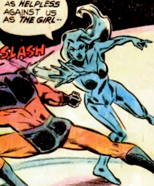 Silver Slasher of the League of Super Assassins (LSH DC Comics) vs. Timber Wolf
