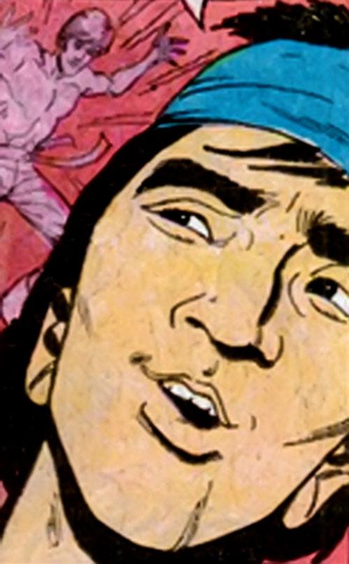 Sing (Richard Dragon enemy) (DC Comics) face closeup