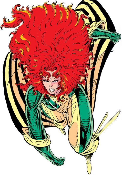 Siryn of X-Force (Marvel Comics) (Cassidy) by Liefeld, sigh
