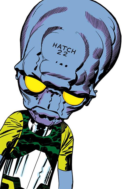 6 Million Year Man (Hatch-22) (Black Panther) (Marvel Comics)