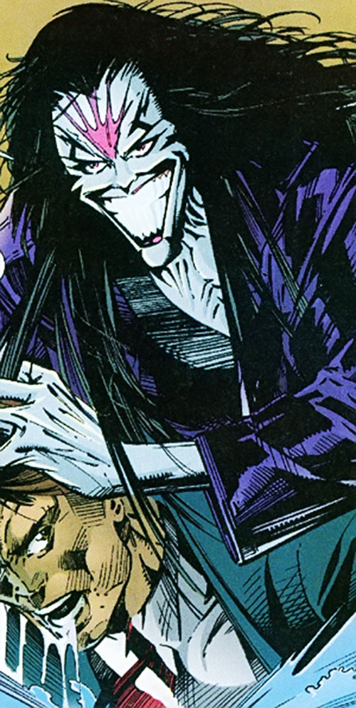 Skin Dance (Sovereign 7 enemy) (DC Comics)