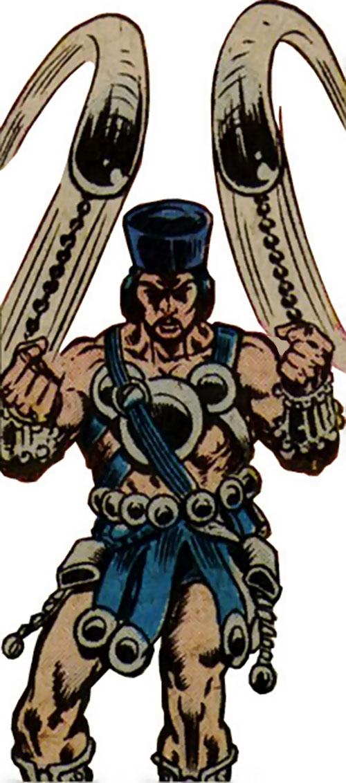Skullcrusher (Master of Kung Fu enemy) (Marvel Comics)