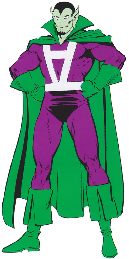 Skrullian Skymaster aka Skymax - older costume