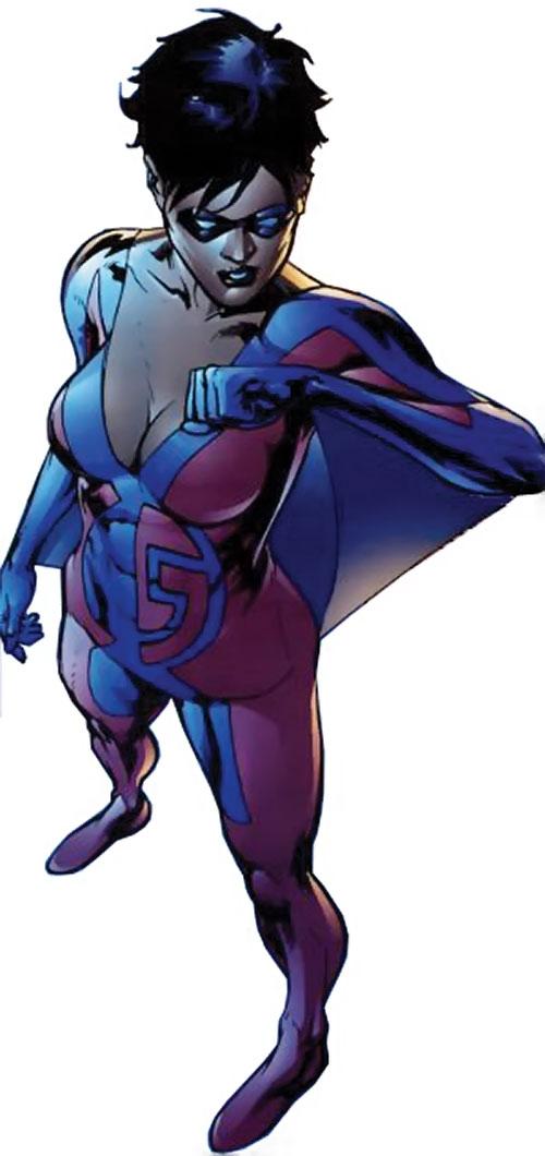 Slingshot aka Menagerie of Dynamo 5 (Image Comics) high angle shot