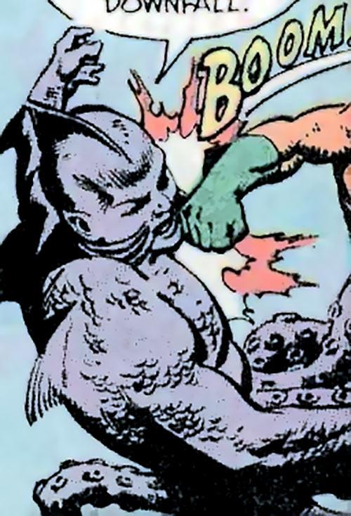 Slud Jack (Hostess Comics) vs. Aquaman