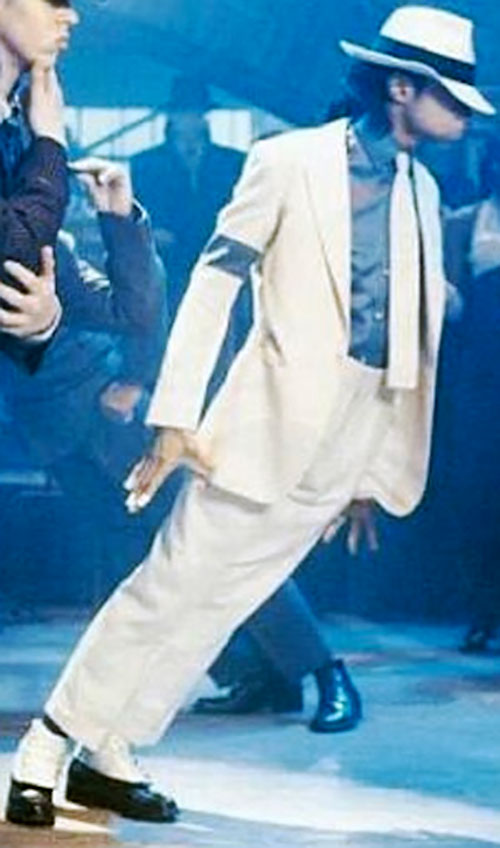 Smooth Criminal leaning forward