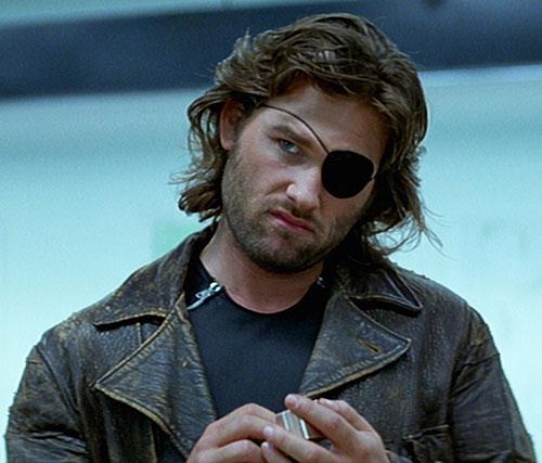 Snake Plissken (Kurt Russell in Escape from New York)