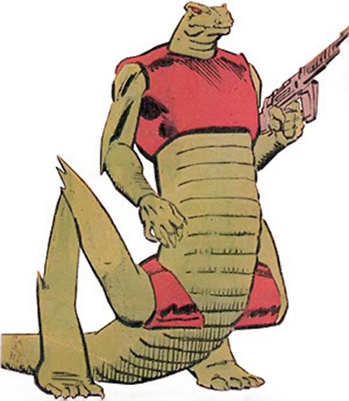 Snark soldier (Power Pack) (Marvel Comics)