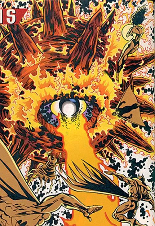 Solaris vs. the Justice Legion A
