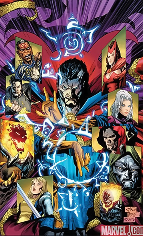 Wizards and demons in the Marvel Universe