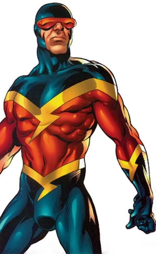 Speed Demon of the Thunderbolts (Marvel Comics) upper body