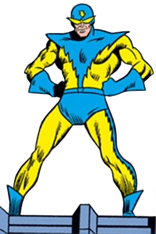 Speed Demon (Marvel Comics) as the Whizzer of the Squadron Sinister