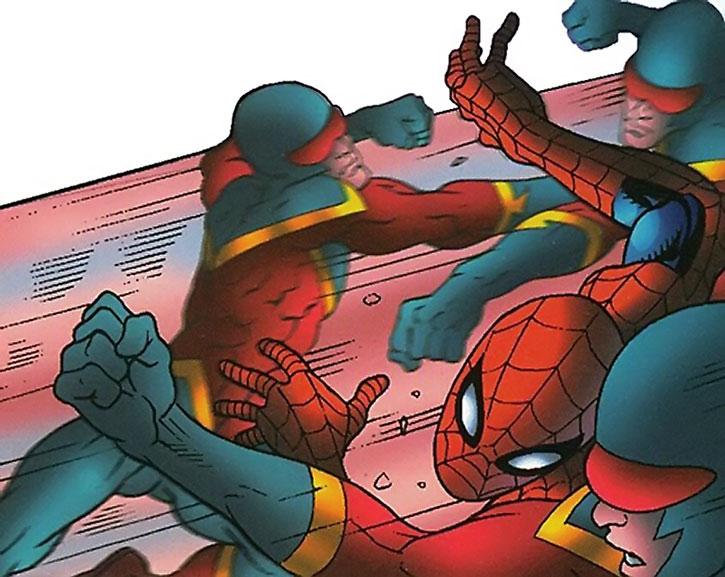 Speed Demon (James Sanders) vs. Spider-Man