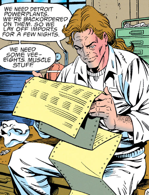 Speedboyz (DC Comics) (Robin enemies) leader reading printing
