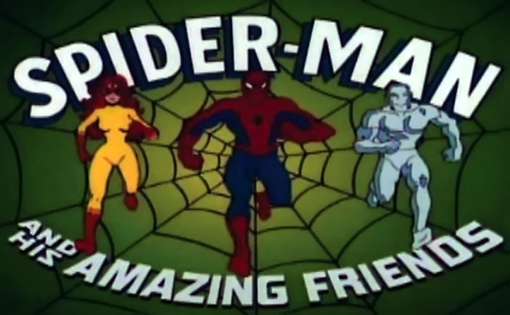 Spider-Man (Amazing Friends animated version) opening credits with Firestar and Iceman
