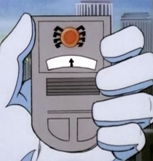 Spider-Man and his Amazing Friends cartoon - tracker device for spider-tracers