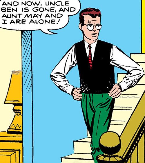 Early Spider-Man (Marvel Comics Lee Ditko) Peter Parker