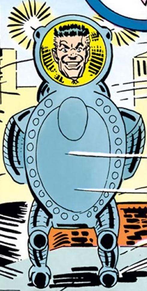 Spider-Slayer Mk1 (Spider-Man enemy) (Marvel Comics) vintage art