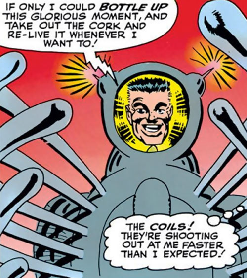 Spider-Slayer Mk1 (Spider-Man enemy) (Marvel Comics) - Jameson triumphant
