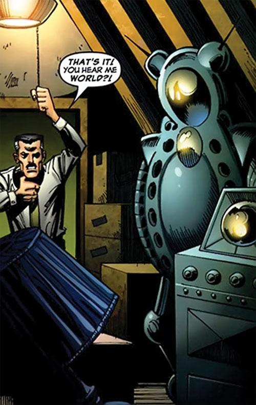Spider Slayer Mk1 Marvel Comics Spider Man Enemy