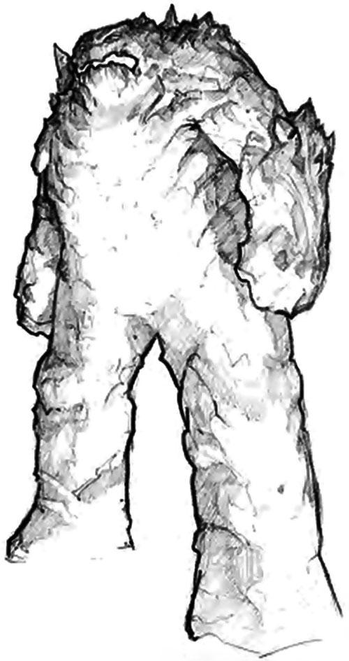 Spite Golem in Everquest 1 (B&W art)