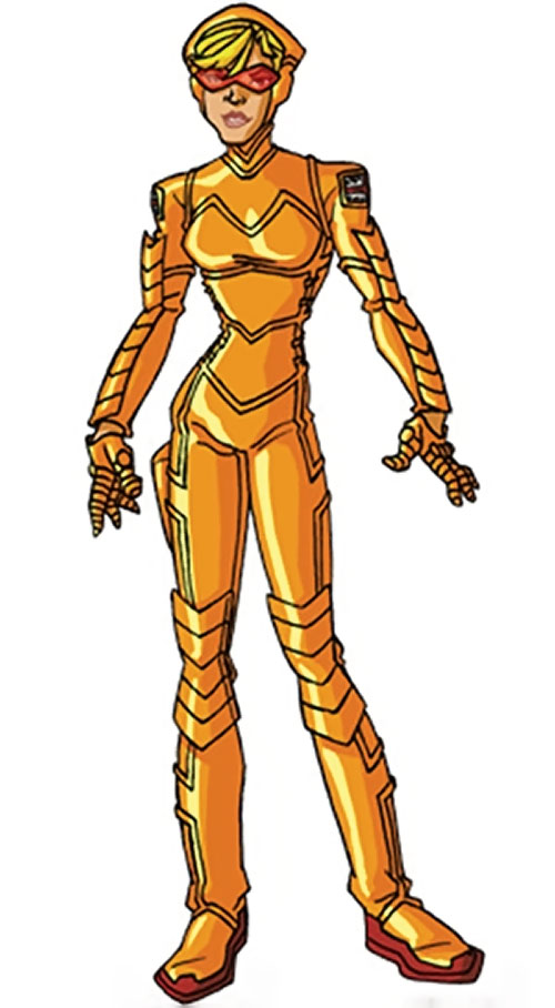 Spitfire of the New Invaders (Marvel Comics) (Jacqueline Falsworth) by RonnieThunderbolts 2/2