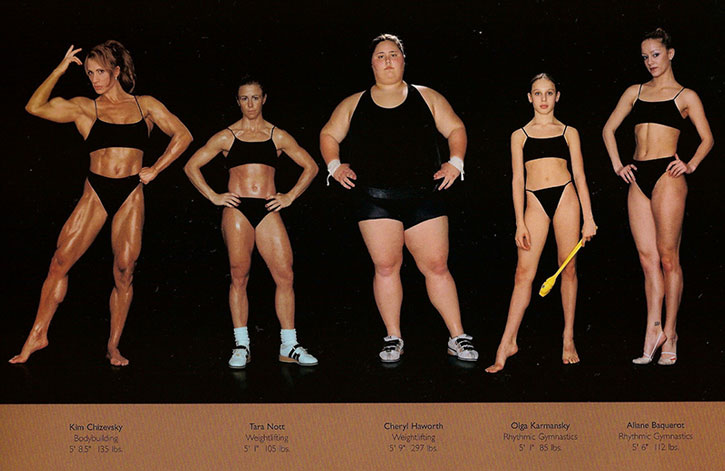 Athletic physiques photos by Howard Schatz and Beverly Ornstein, part 14