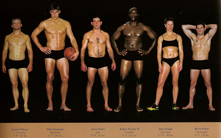 Athletic physiques photos by Howard Schatz and Beverly Ornstein, part 17
