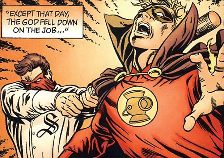 Sportsmaster vs. Green Lantern