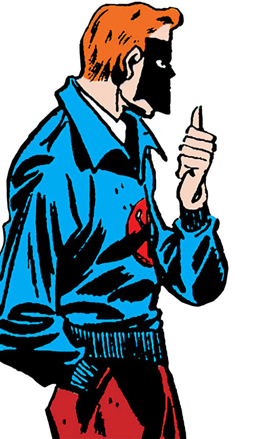 Sportsmaster (DC Comics Golden Age) - blue sports jacket