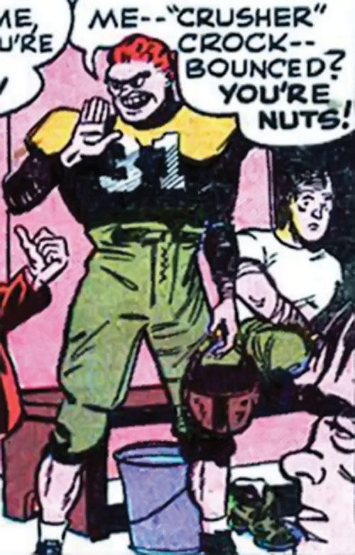 Sportsmaster (DC Comics Golden Age) - US football