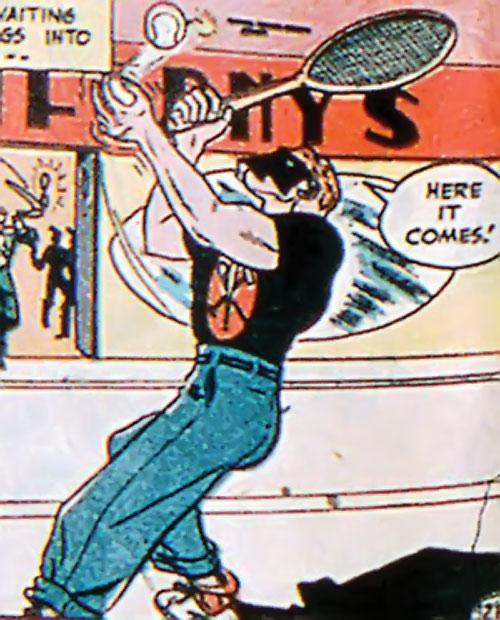 Sportsmaster (DC Comics Golden Age) - tennis