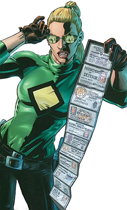 Katarina armstrong dc comics