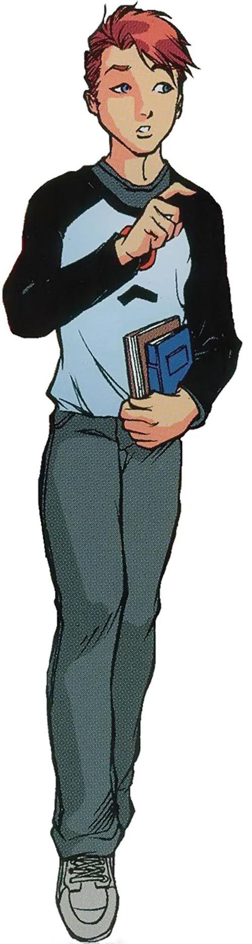 Spyboy (Peter David comics) as Alex Fleming