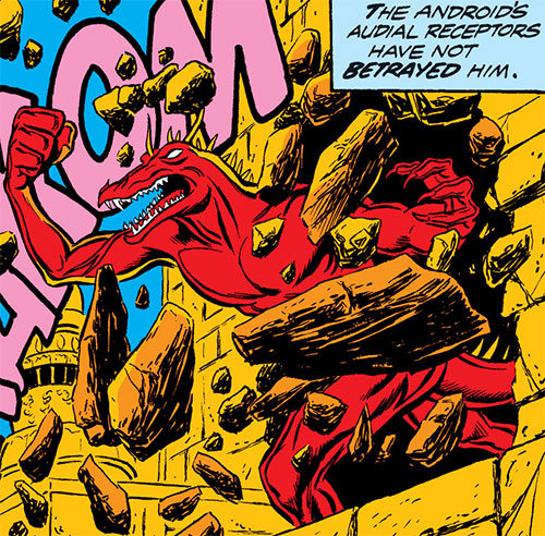 Star-Stalker (Avengers enemy) (Marvel Comics) ionic form