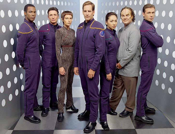 Crew group photo from Star Trek Enterprise