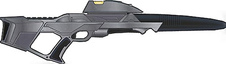 Heavy Star Trek phaser rifle