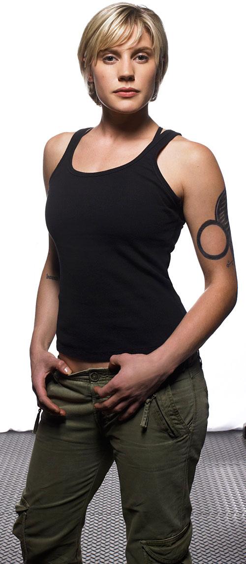 Kara Starbuck Thrace (Katee Sackhoff in Battlestar Galactica)