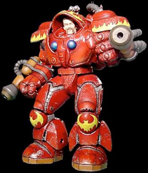 Starcraft Firebat trooper figurine
