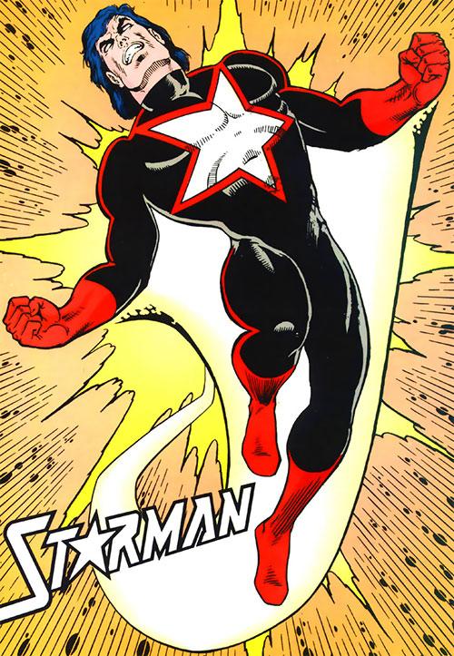 Starman (Will Payton) (DC Comics) black and red costume