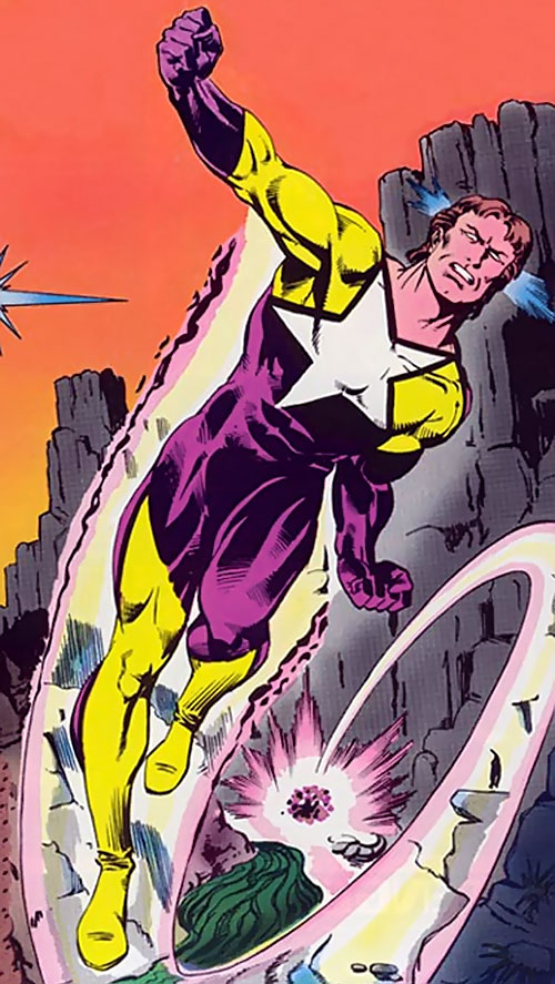 Starman (Will Payton) (DC Comics) early costume