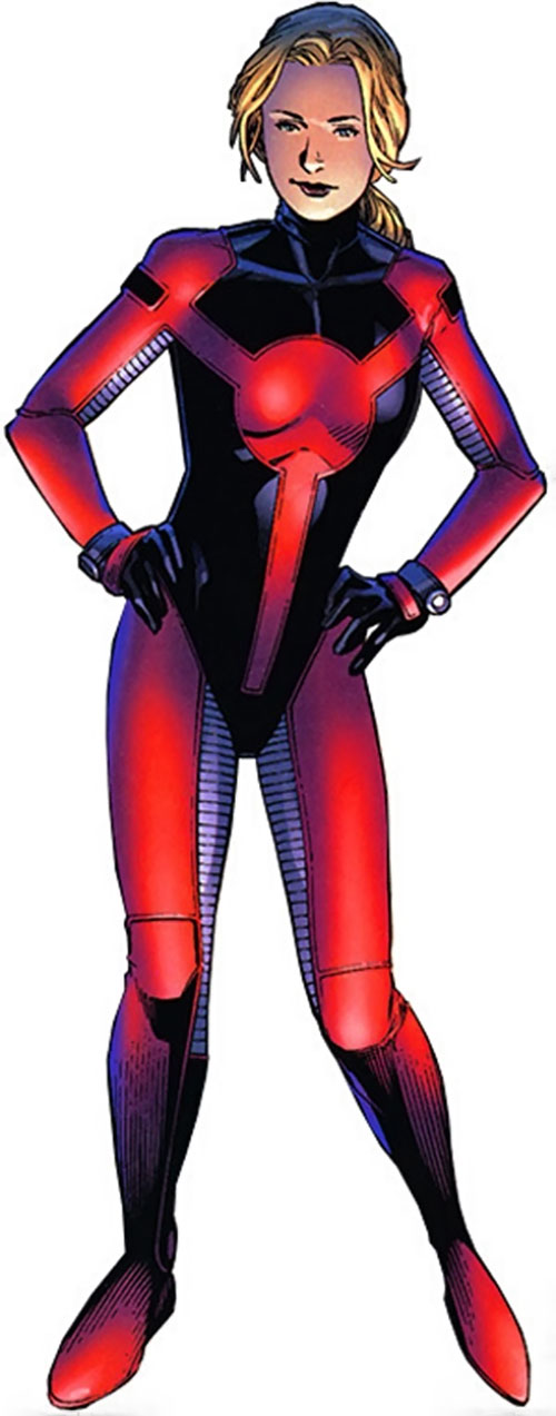 Stature of the Young Avengers (Marvel Comics)