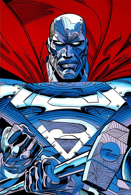 Steel (John Henry Irons) (DC Comics Superman) Man of Steel armor