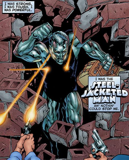 Steeljack (Astro City Comics) (Tarnished Angel) in his prime